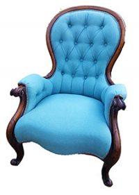 blue chair repair